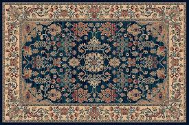 royal navy 1630 509 navy centre with beige border rectangle rugs traditional rugs