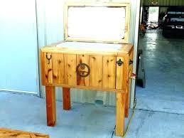 outdoor ice chest wood outdoor ice chest wood pallet wooden plans cooler pl rustic chests best outdoor ice chest wood
