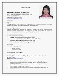 Sample Employment Resume 83 Admirable Photos Of Resume Examples For Jobs Best Of