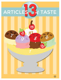 The 13 Articles Of Taste The Gospel Home