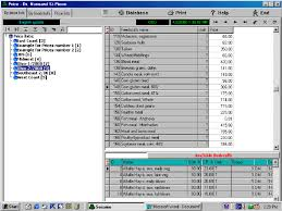 Microsoft Word Price List Price Lists Section Showing The Different Price Lists Created And