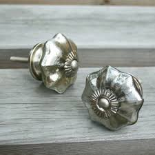 ... Silver Glass Melon Shaped Door Knobs Handles Vvc4362 M1 4 Large size ...
