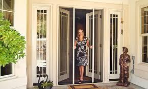 275 toward a custom retractable screen door clearview retractable screen doors o12