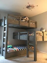 Image Pottery Barn Muhalifbaski Low Ceiling Loft Bed With Desk Bunk Uk Plans Short