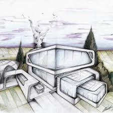 modern architectural sketches. Modren Architectural Magnificent Architectural Sketches By Cludio Cigarro To Modern Architectural Sketches D