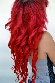 I Want My Hair Red So
