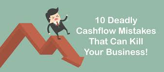 What Is Cash Outflows 10 Cashflow Mistakes That Can Kill Your Business