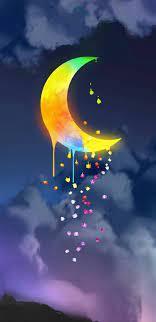 moon, stars and moon ...