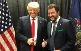 Gli Usa dichiarano guerra all'Iran, Salvini sposa Trump: