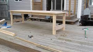build a diy farmhouse wedding table