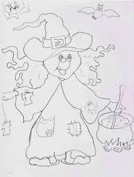 Festa Di Halloween Schede Da Stampare Per La Scuola Dellinfanzia