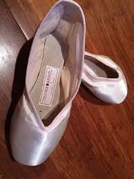New Russian Pointe Shoes Ballet Toe Dance Dolce E 40 4 3 M