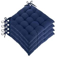 blue kitchen chair cushions chairs wonderful and gorgeous set of four reversible u shaped with chair blue kitchen chair