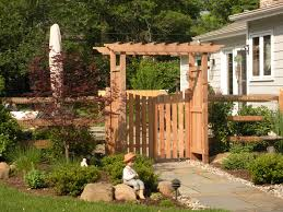 garden gates and fences. Popular Garden Gates And Fences With Fence Gate Arbor   PLSblue New Hope, PA 0 2