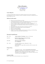 Best Photos Of Curriculum Vitae Sample For Nurses Registered Nurse