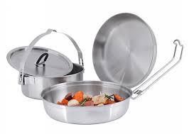 Туристическая посуда | Кастрюли и сковороды
