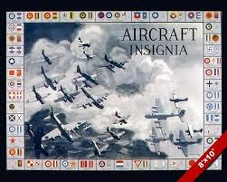 Air Force Aircraft Identification Chart Wwii Aircraft Insignia Identification Chart Propaganda