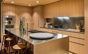 wood kitchen countertop finish oil counter warm intended for interior