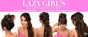 easy hairstyles for long hair tutorial cute back to hairstyle