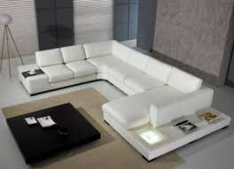 White modern couches Shaped The Pel Sofa In White Faux Suede Made Of 57 Acrylic And 49 Polyester Is Huge Favorite With Customers Looking For Supreme Comfort And Juicy Viesso Modern White Sofa Sets Viesso