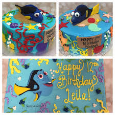 Finding Dory Birthday Cake Alyssas Cakery