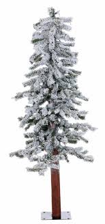 National Tree Company 4 Ft White Iridescent Tinsel Artificial 4 Christmas Trees