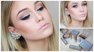 silver glitter and black eyeliner makeup tutorial using mac cinderella collection you