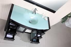 modern single bathroom vanity. Virtu MS-509 Ava Modern Bathroom Vanity Sink Single L