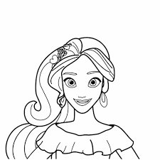 Tải miễn phí 101+ Tranh tô màu công chúa Elena