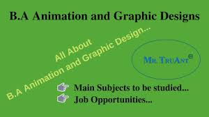 Graphic Design Subjects B A Animation And Graphic Design Course Details Main Subjects Associated Job Opportunities