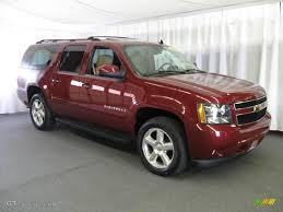 2007 Sport Red Metallic Chevrolet Suburban 1500 LTZ 4x4 #13368991 ...