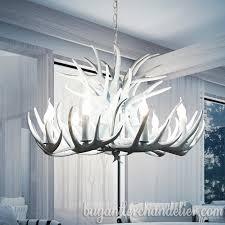 deer antler chandelier ceiling lights