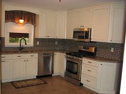 Chocolate Glaze Kitchen Cabinets Mid Continent Sullivan Maple Cabinets In Antique White With