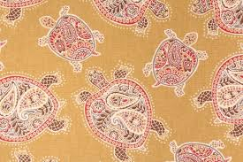 tommy bahama wallpaper tranquil turtles printed cotton dry fabric in nutmeg per yard tommy bahama tropical tommy bahama