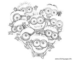 Small Picture MINION COLORING Pages Free Download Printable