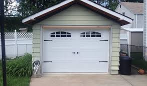 cascade garage doorPictures of Raised Panel Carriage House Style Modern Steel and
