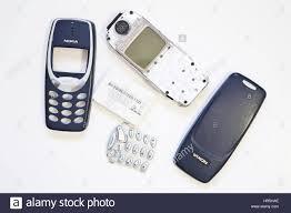 Dismantled original Nokia 3110 mobile ...