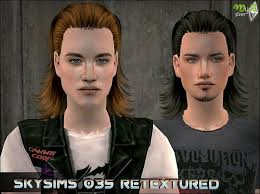 Pin on Sims 2 - Hair (Male)