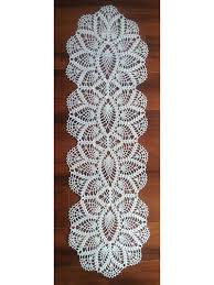 Oval Crochet Doily Patterns Free Fascinating Crochet Doily Patterns Pineapple Oval Runner