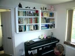 wall mounted book shelf wall mounted bookshelf designs contemporary wall mounted bookshelves pottery barn