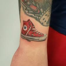 Tiny Shoe By Nick Peirce At Diamond State Tattoos In North Little