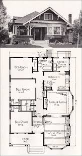 mail floorplan. Transitional Bungalow Floor Plan - C 1918 Cottage House By E. Stillwell Vintage Los Angeles Homes Mail Floorplan S