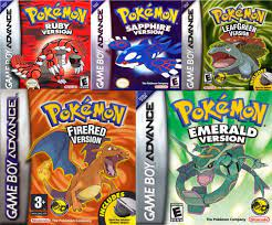 Get all 5 Pokemon GBA Games For 1 Low Price | Pokemon Emerald Version GBA |  Pokemon Fire Red Version GBA | Pokemon Ruby Version GBA | Pokemon Sapphire  Version GBA