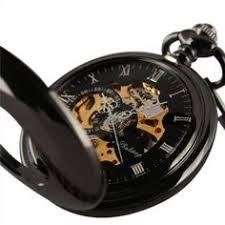 53 fancy 1805 emerald pocket watch by la b my wish list classic black skeleton windup mechanical smooth chain man men mens pocket watch