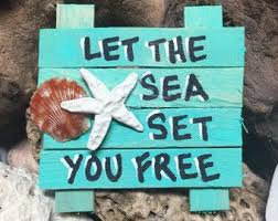Pin by Iva Robertson on Wood signs in 2020 | Pallet art, Pallet wall art,  Beach signs