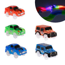 Led Light Toy Car Us 7 12 10 Off Diy Led Light Up Cars For Glowing Race Track Bend Flex Flash In The Dark Fancy Assembly Car Toy Cars For Kid Glow Tracks Car In