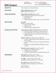 First Time Job Resume Sample For A Part Time Job As A Student 17 Interesting Resume