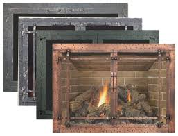 glass fireplace doors. The Craftsmen Collection Of Enclosures Gives Our Artisans An Opportunity To Show Their Skill And Creativity. Goal Is Capture Charm Style Glass Fireplace Doors A