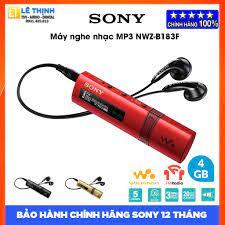 Máy nghe nhạc Sony Walkman NWZ-B183F (Đỏ) - Hàng chính hãng - Bảo hành  chính hãng Sony 12 tháng toàn quốc