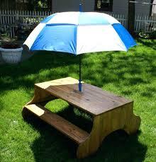 kids table umbrella kids wooden picnic table with umbrella best picnic tables for kids images on kids table umbrella kids surfboard outdoor